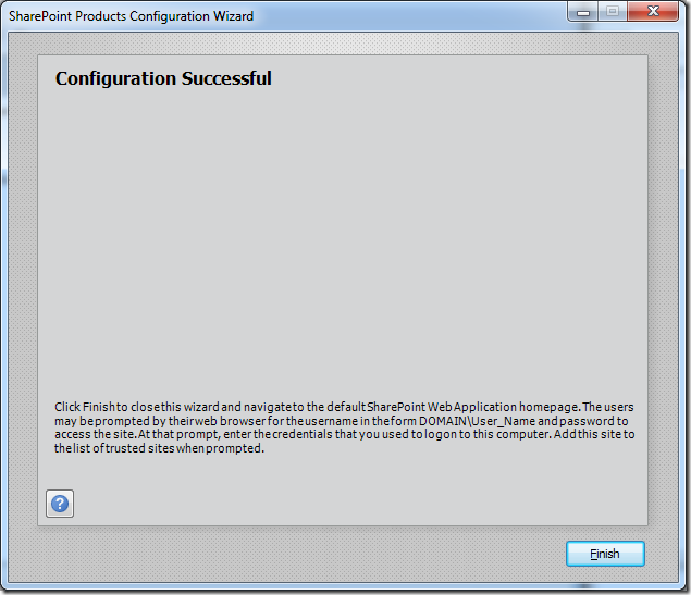 An IIS web site by the name of SharePoint Central Administration v4 already exists on this server (6/6)