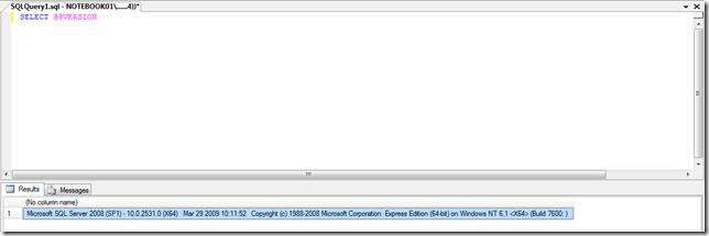 Como saber versão do SQL Server rodando? (3/3)